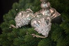 Weihnachtsschmuck-silber