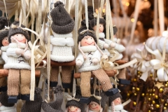 Winterdekoration-Puppen